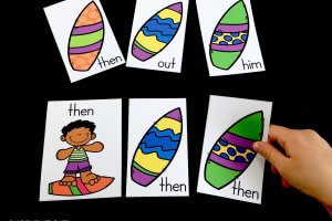 Surfing For Sight Words