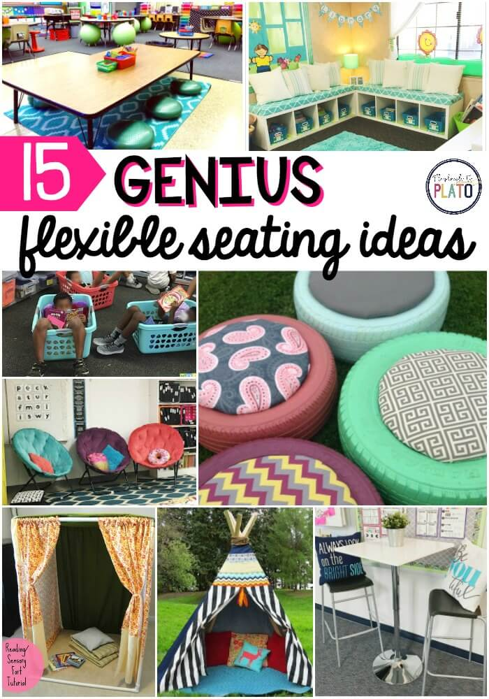 15 Flexible Seating Ideas