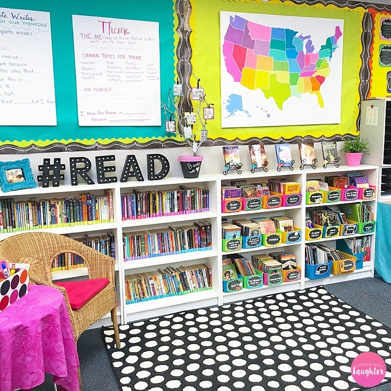 Classroom Library Decorating Ideas ~ Gorgeous classroom libraries playdough to plato