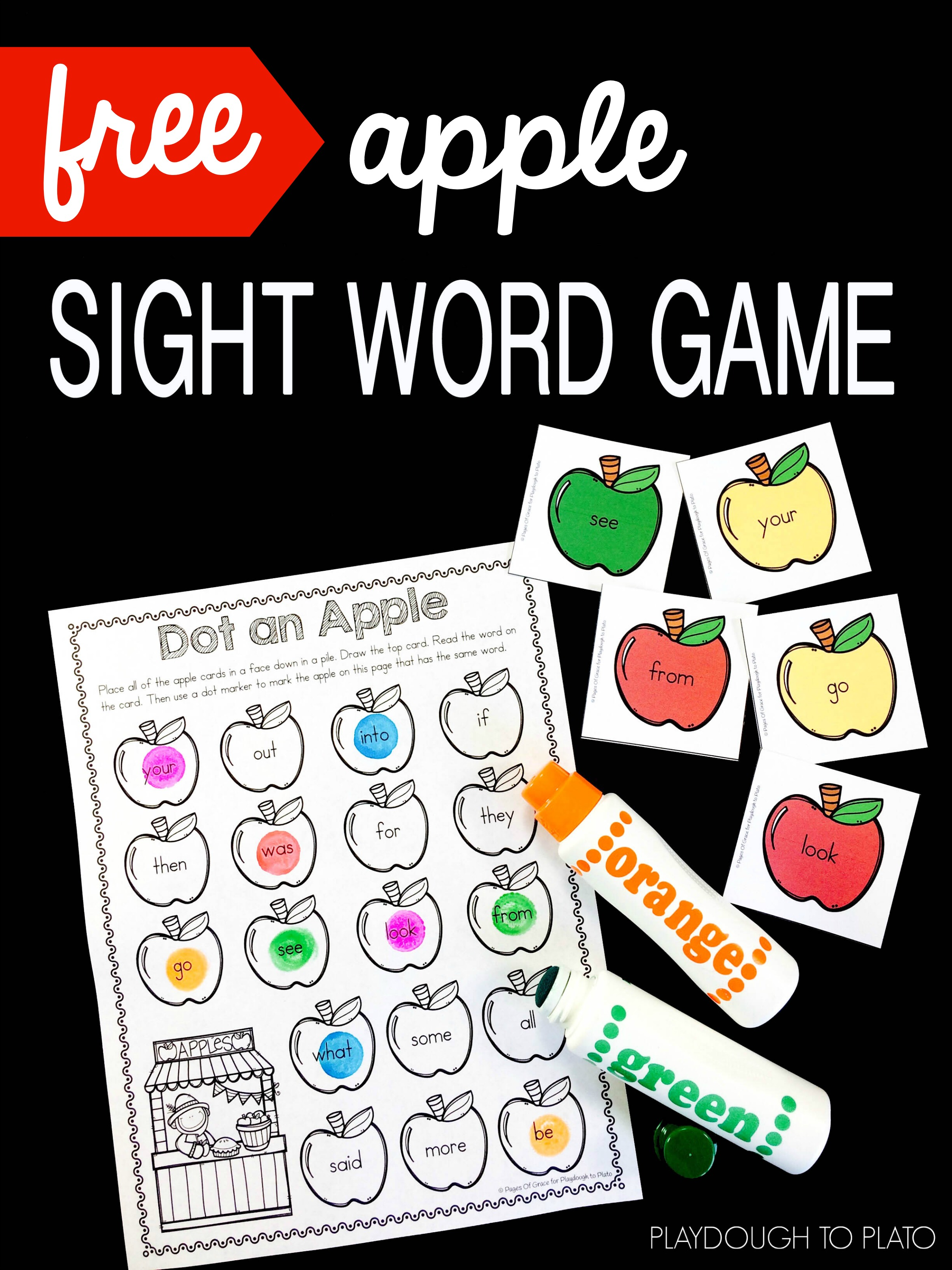It is a photo of Soft Free Printable Sight Word Games