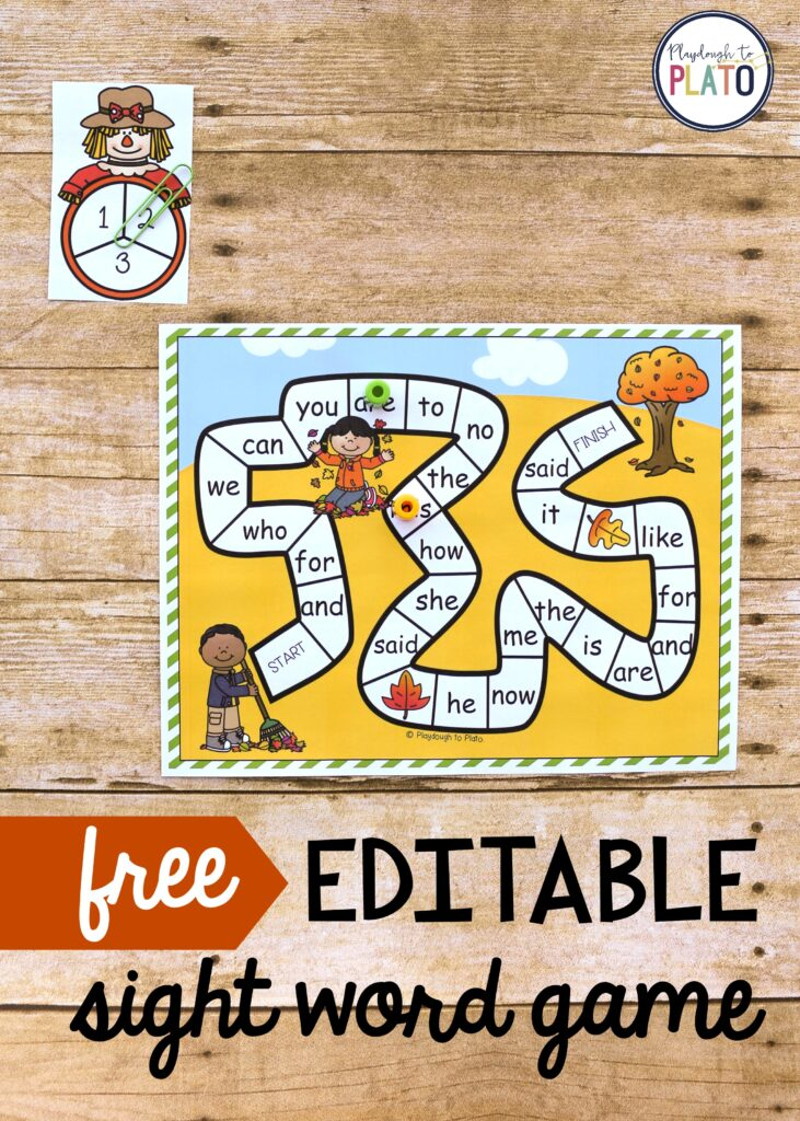 Refreshing image pertaining to free printable sight word games