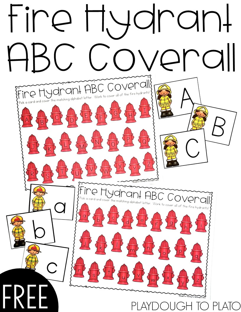 Fire Hydrant ABC Coverall