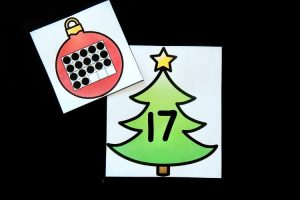 Christmas Tree Number Match