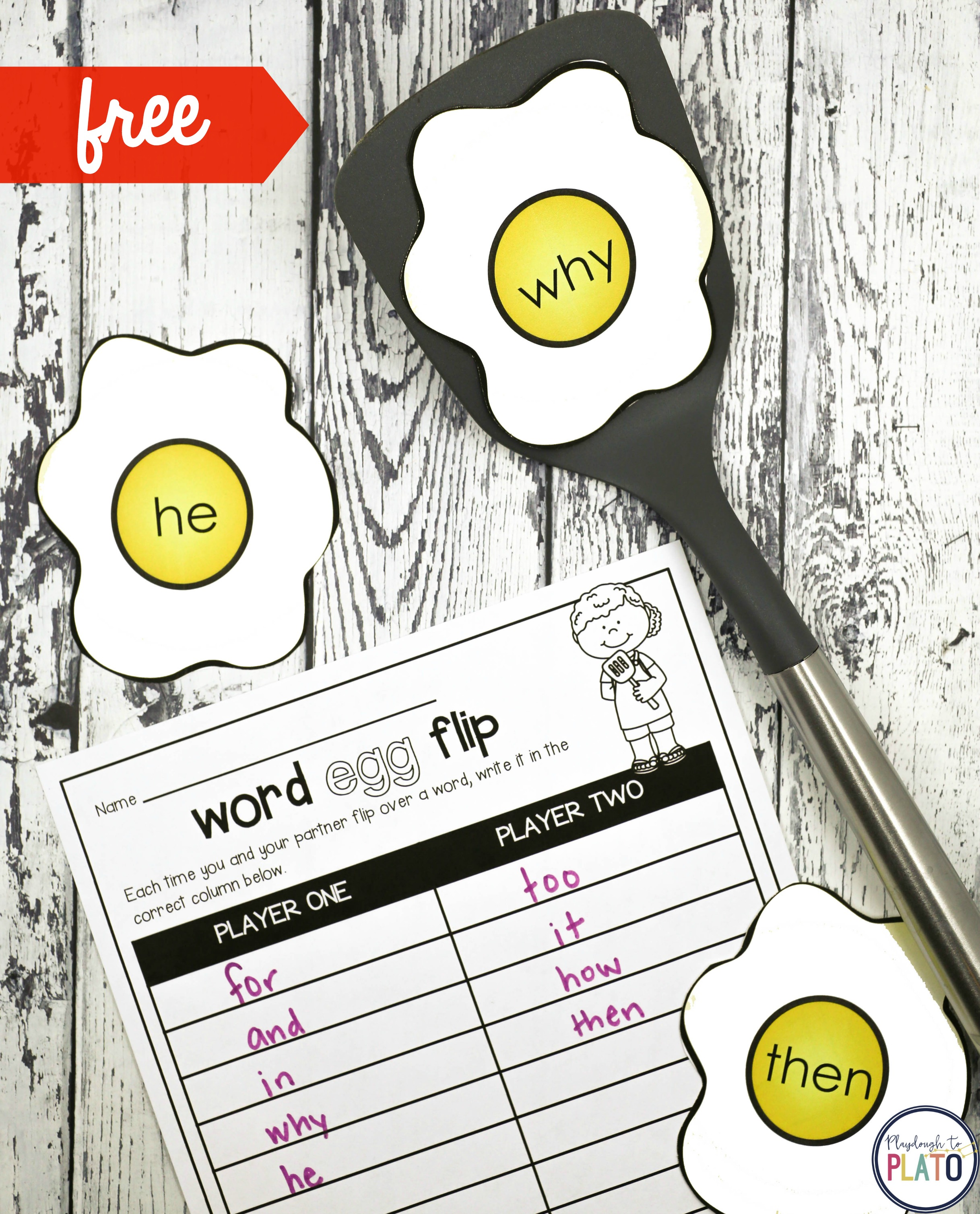 It is a picture of Ambitious Printable Sight Word Game
