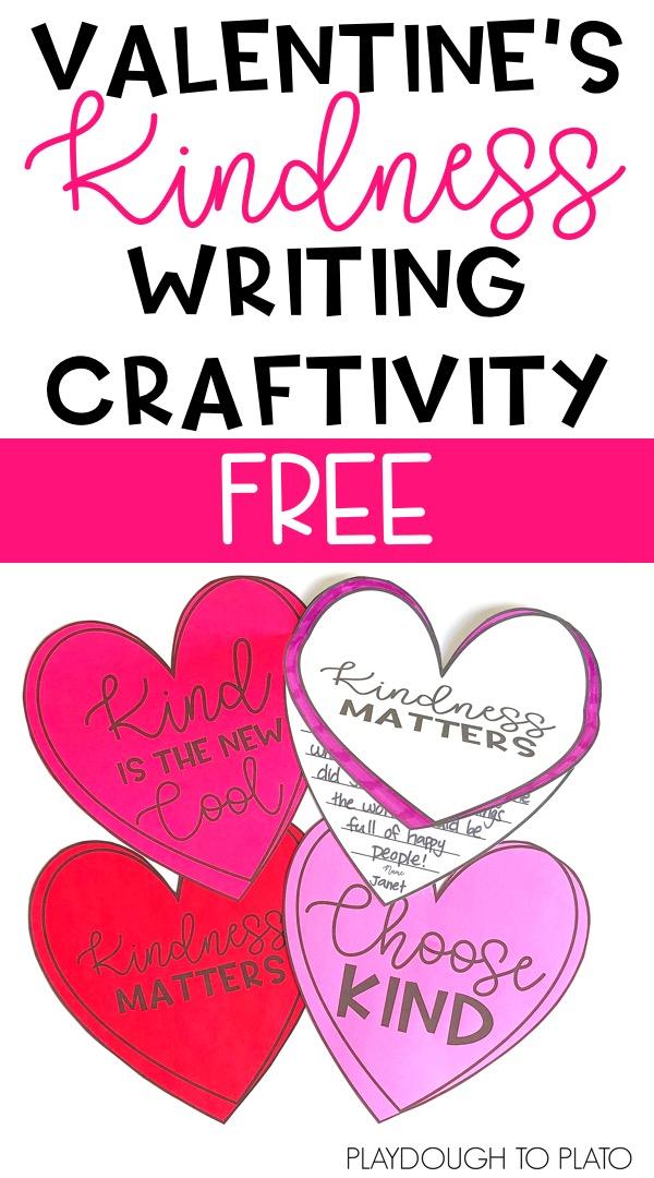Kindness Writing Craftivity