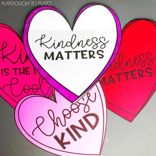 kindness writing craftivity playdough to plato
