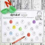 Alphabet Easter Eggs
