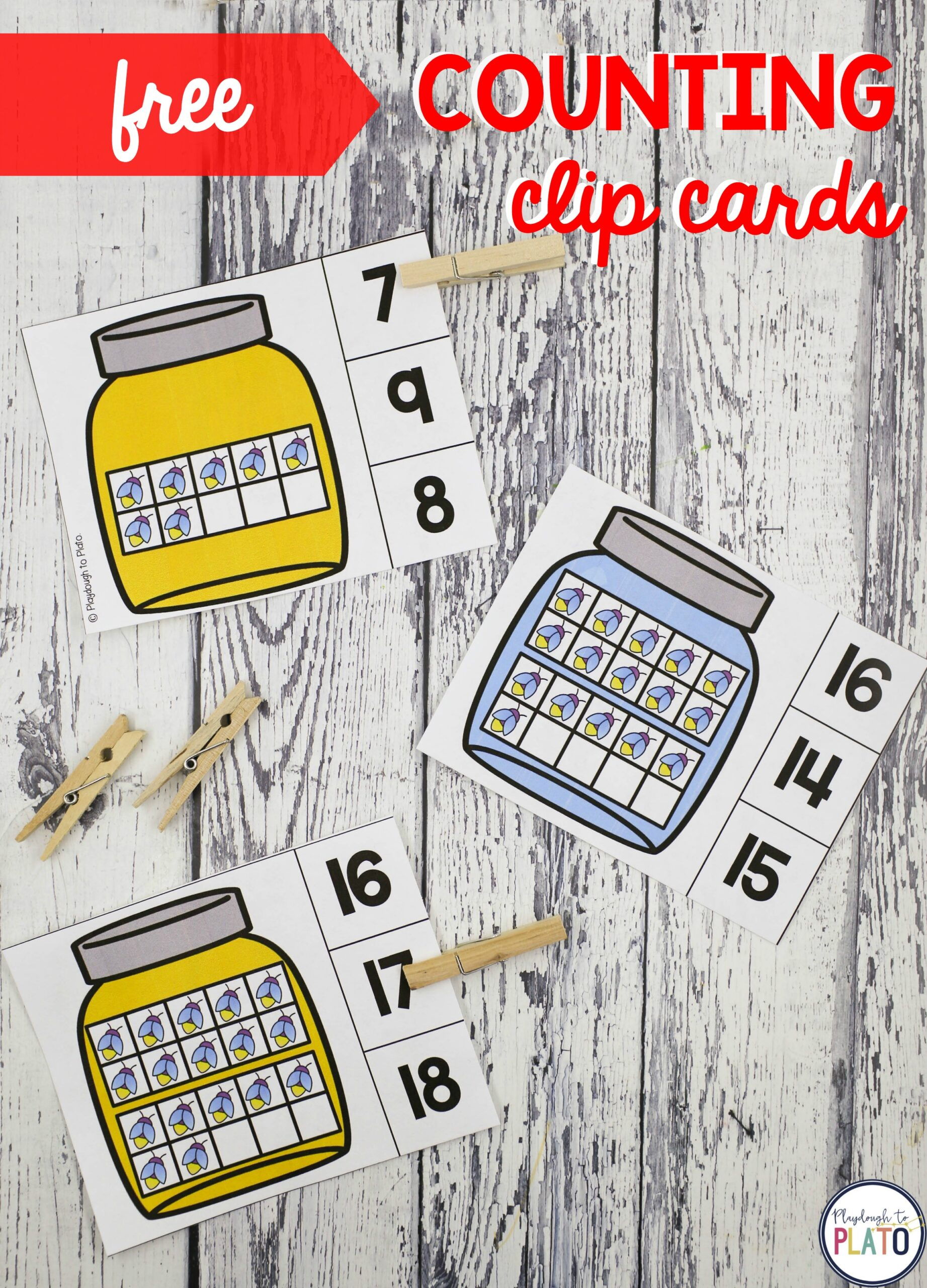 Bug Counting Clip Cards