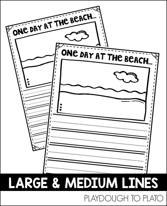 beach writing prompt