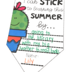 Summer Goals Writing Activity