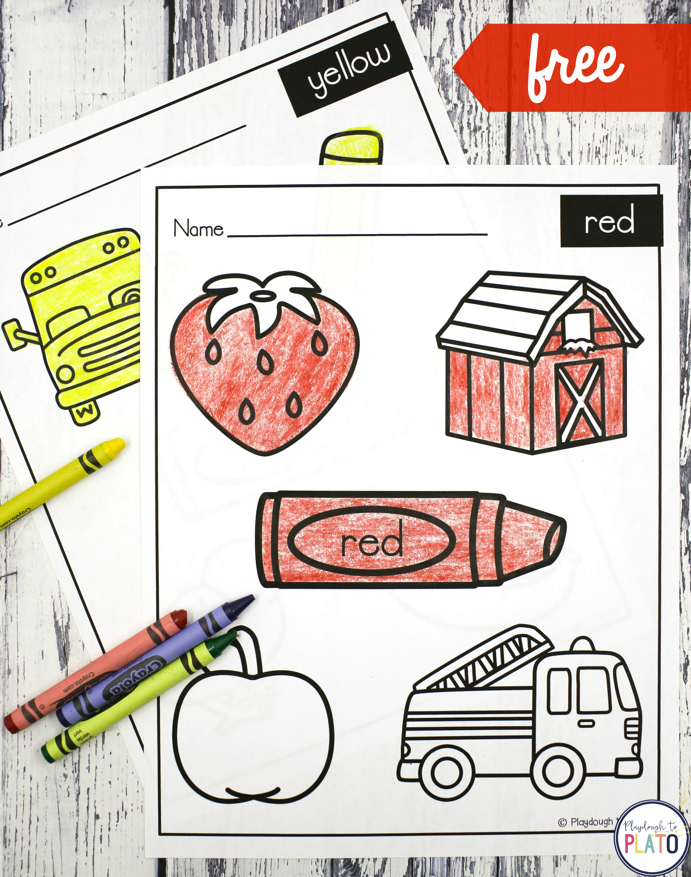 Coloring Sheets - Playdough To Plato