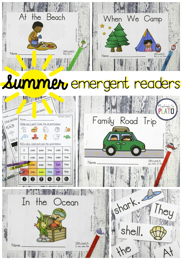 Summer Emergent Reader Books