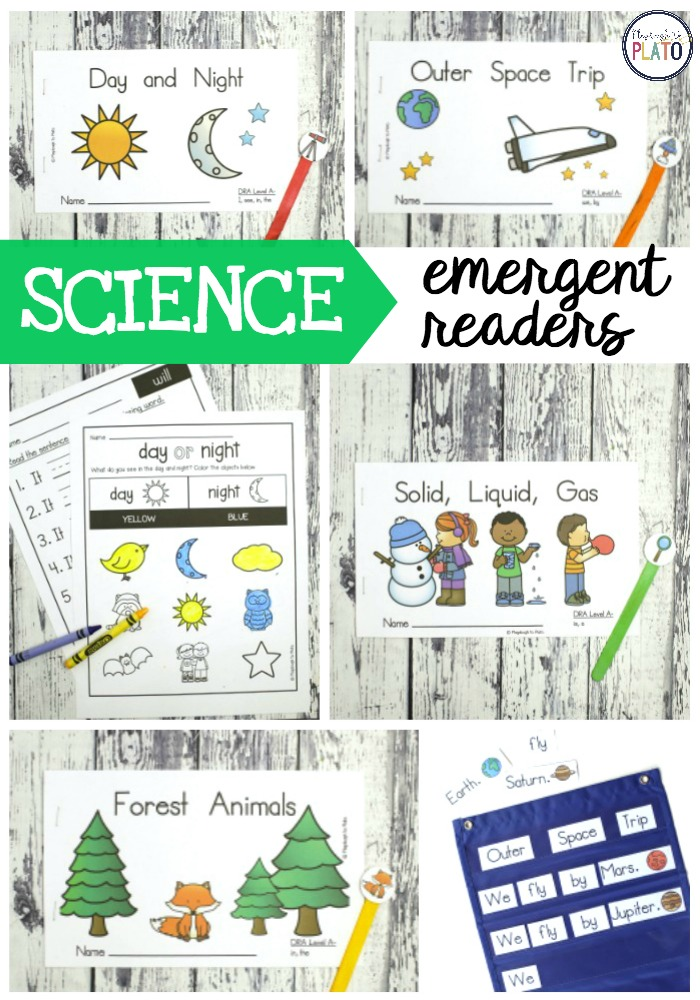 Science Emergent Readers