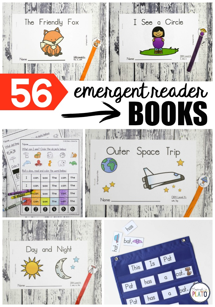 56 Emergent Reader Books