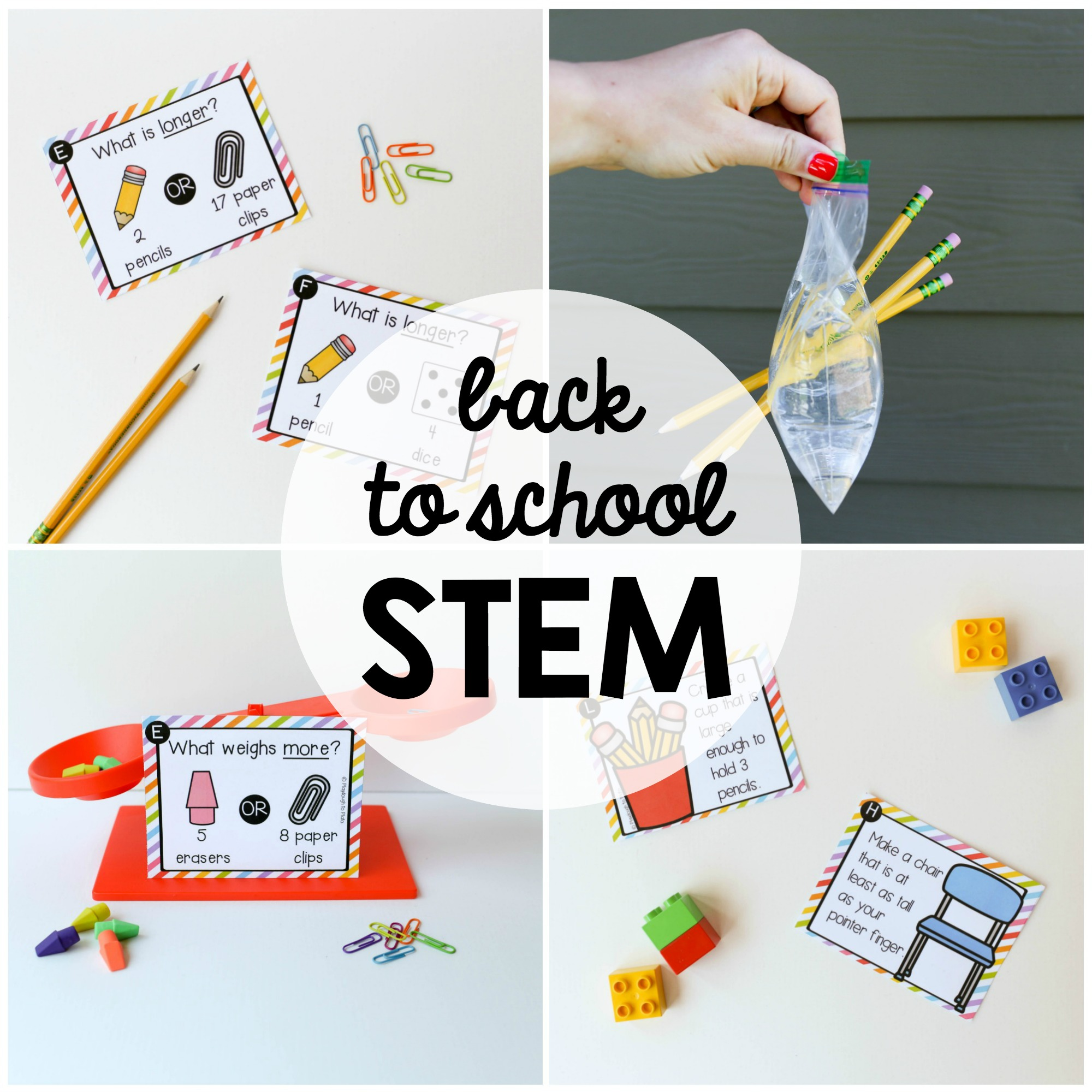 Back to School STEM Challenges