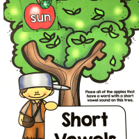 Johnny Appleseed Vowel Sort