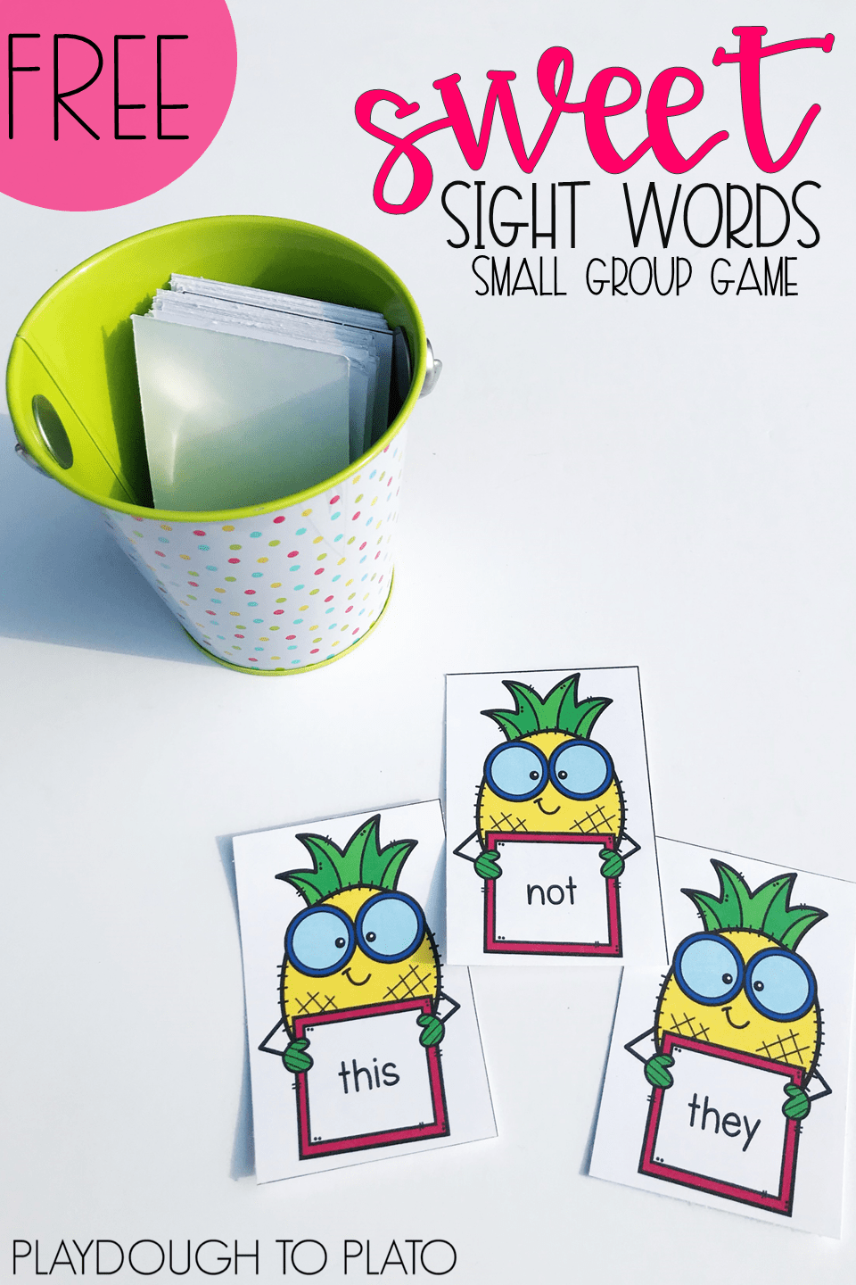 Sweet Sight Word Game