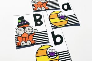 Purr-fect Pairs Alphabet Match