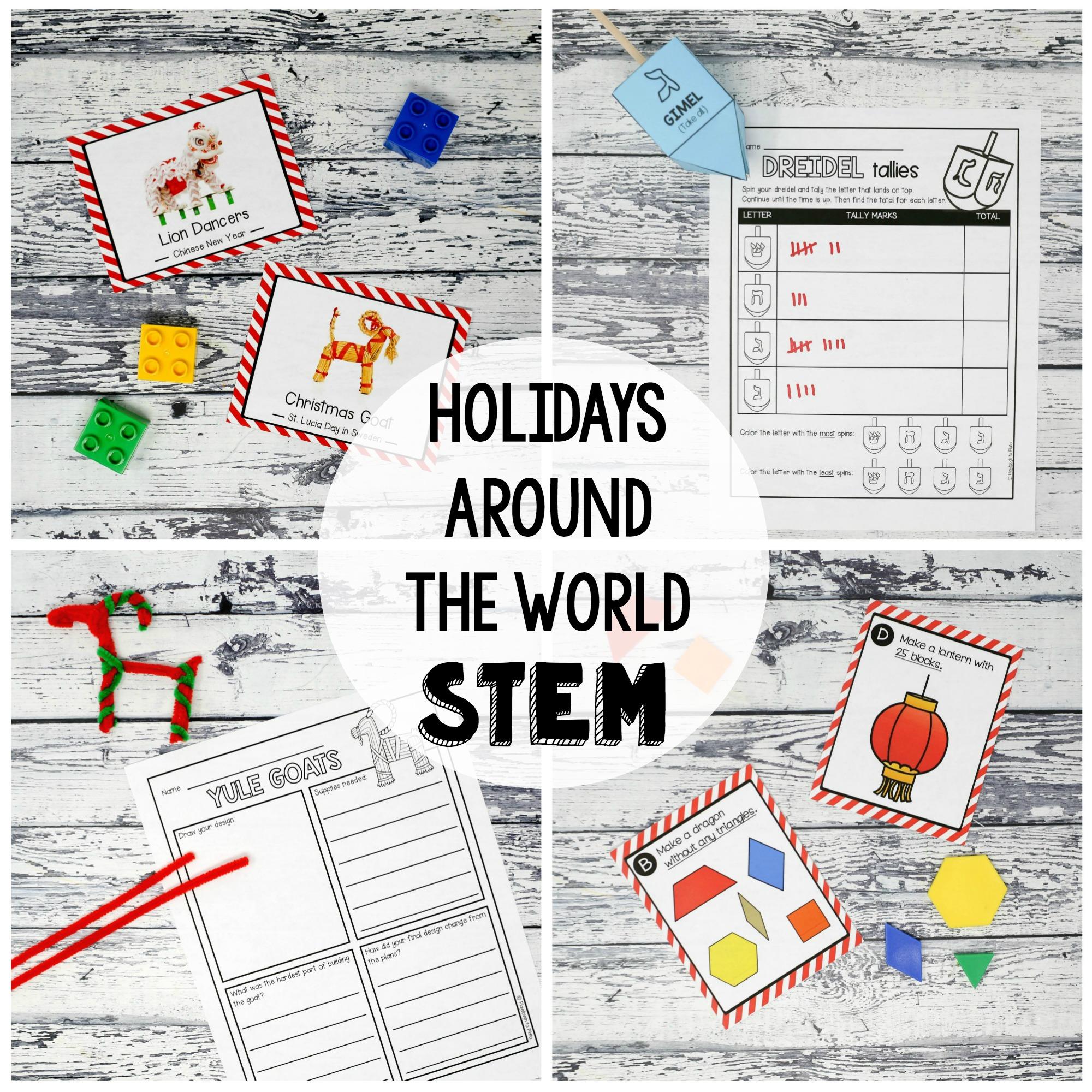 Holidays Around the World STEM