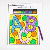 Color by Sight Word