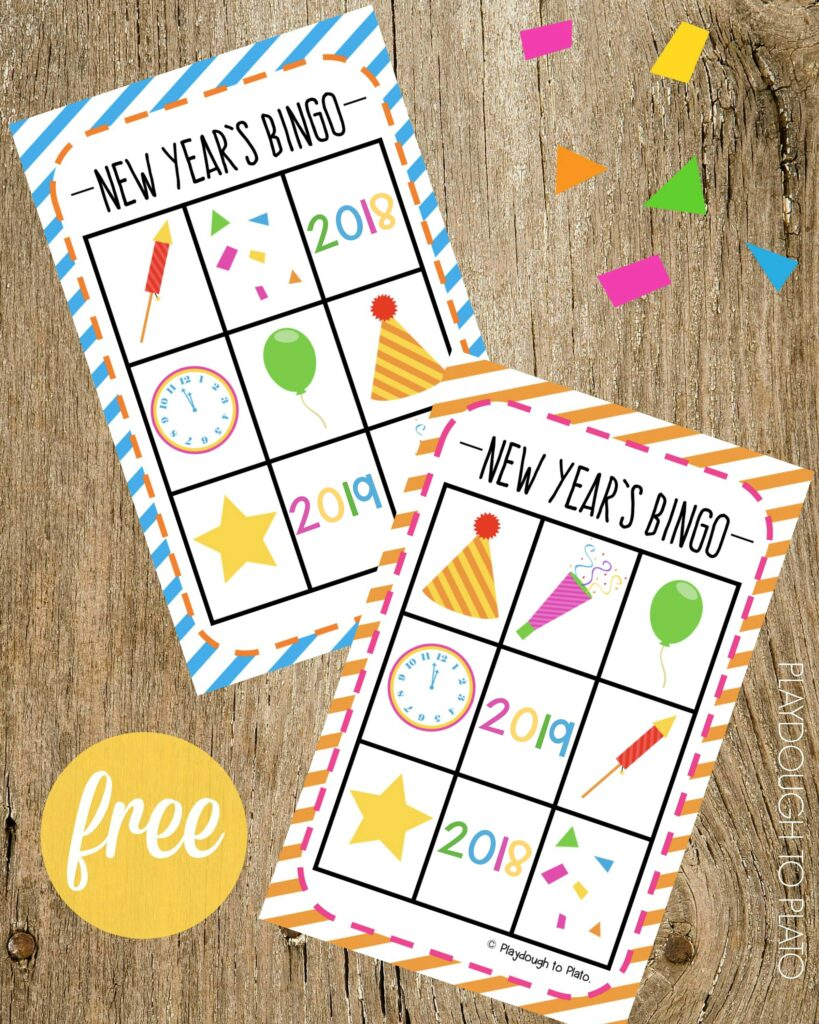 this free new years eve bingo game is easy to prep and fun to play its the perfect compliment to our free new years eve countdown sheet