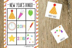 New Year's Eve Bingo