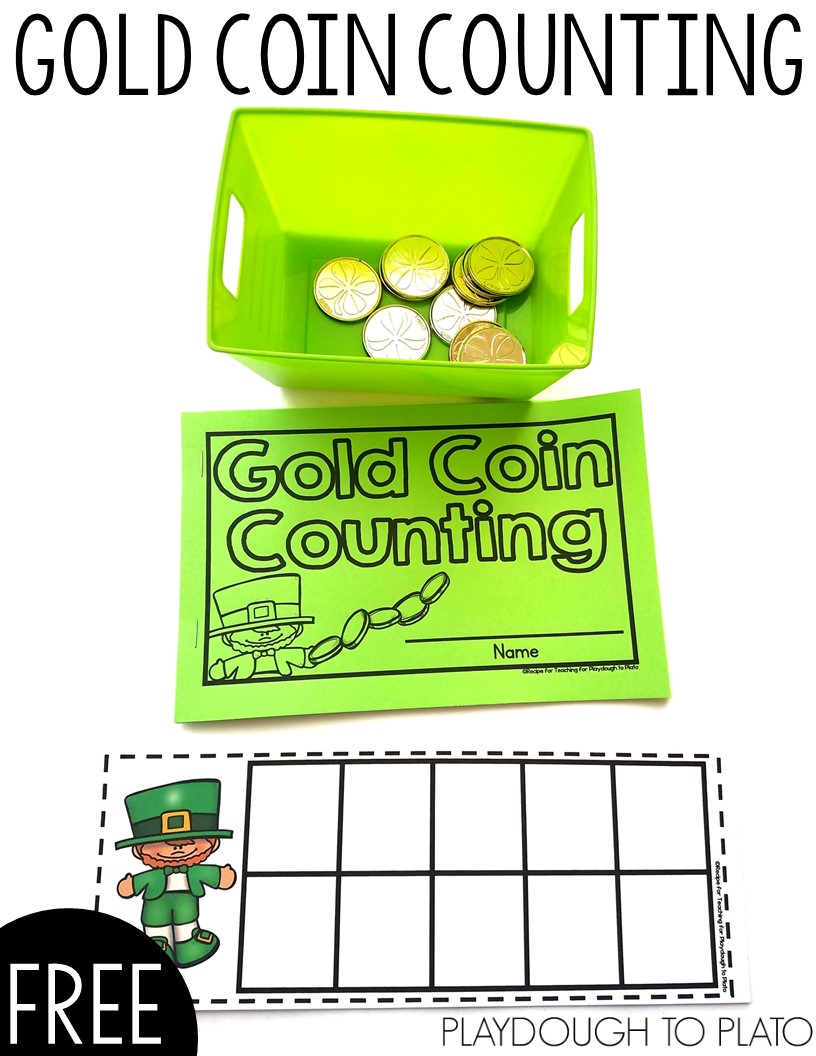Leprechaun Coin Counting