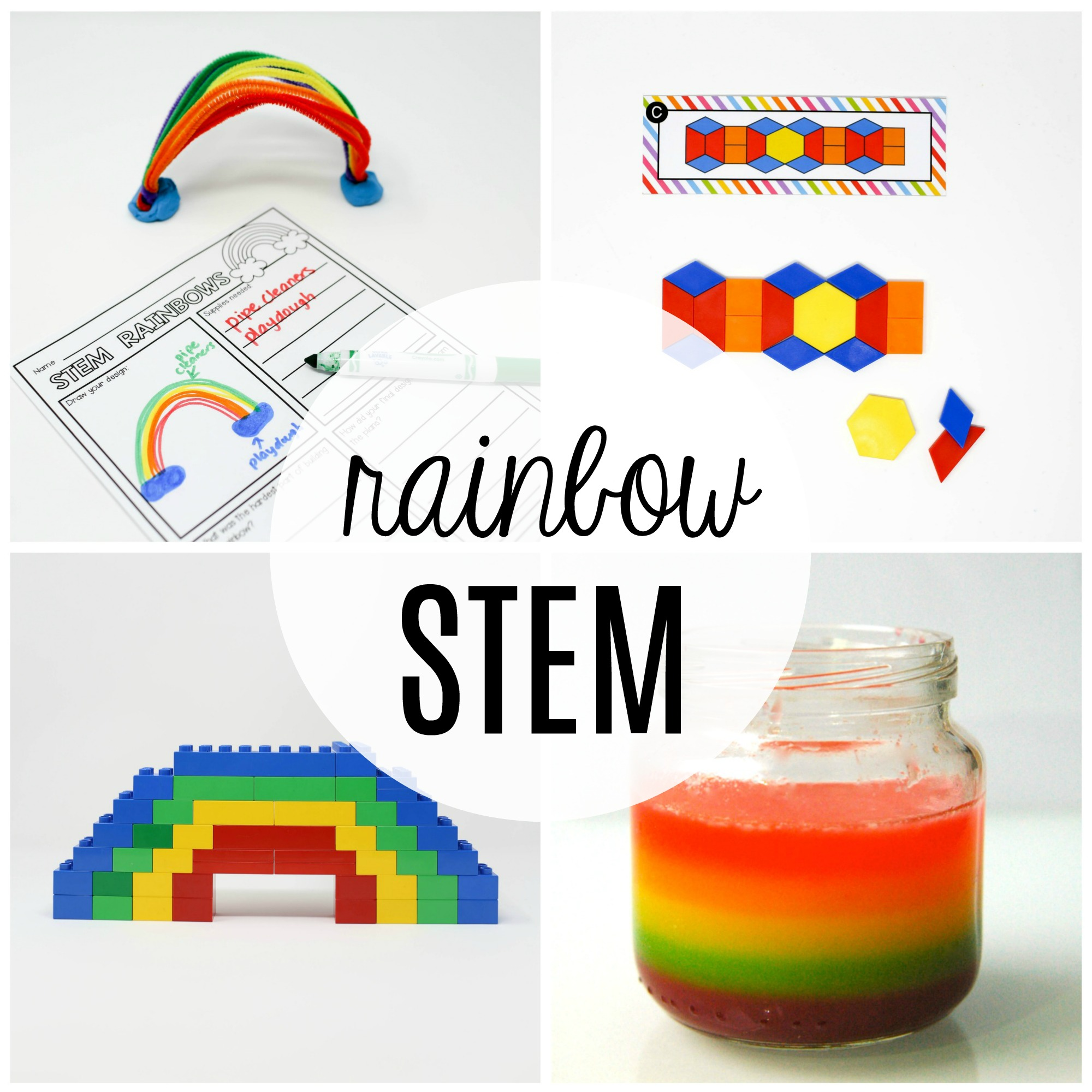 Rainbow STEM Challenges