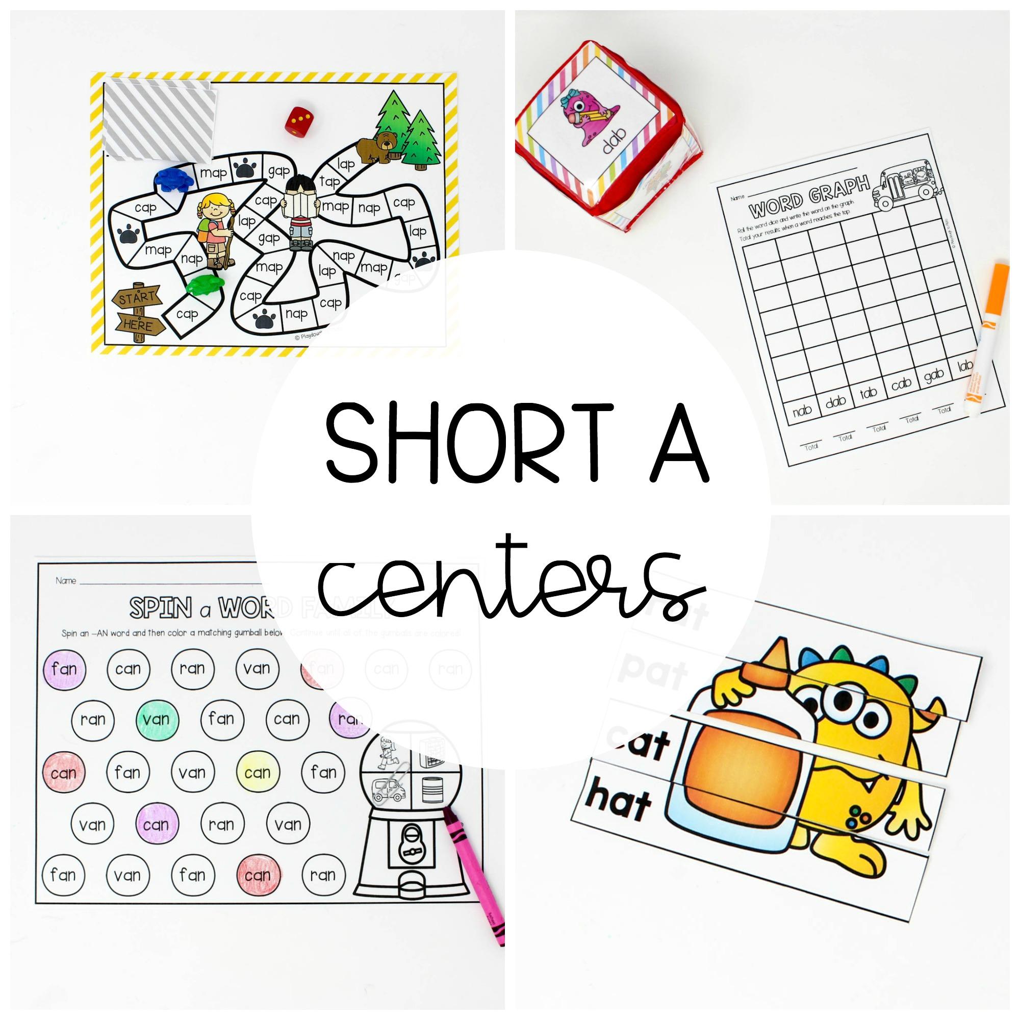 Short A Centers