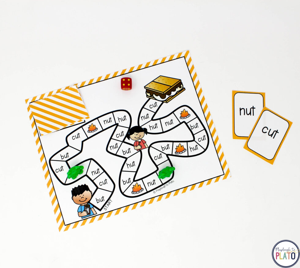 Then build a s'more with an engaging board game.