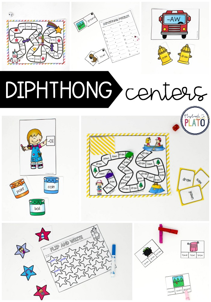Diphthong Centers