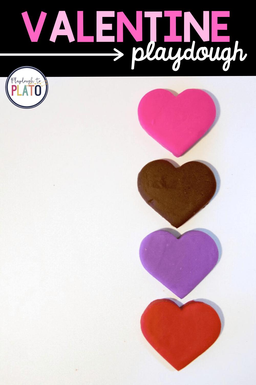 Valentine Playdough Recipes