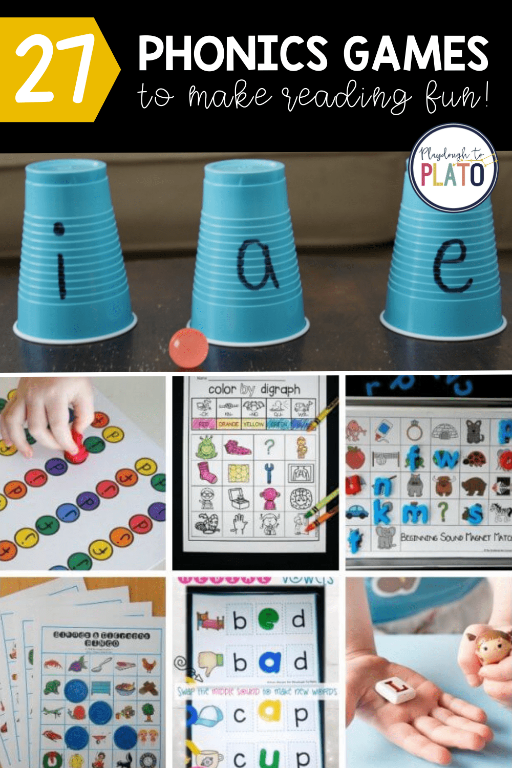 Phonics Games That Make Learning to Read Fun