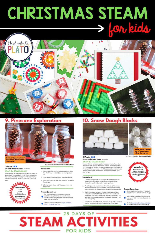 Christmas STEAM for Kids
