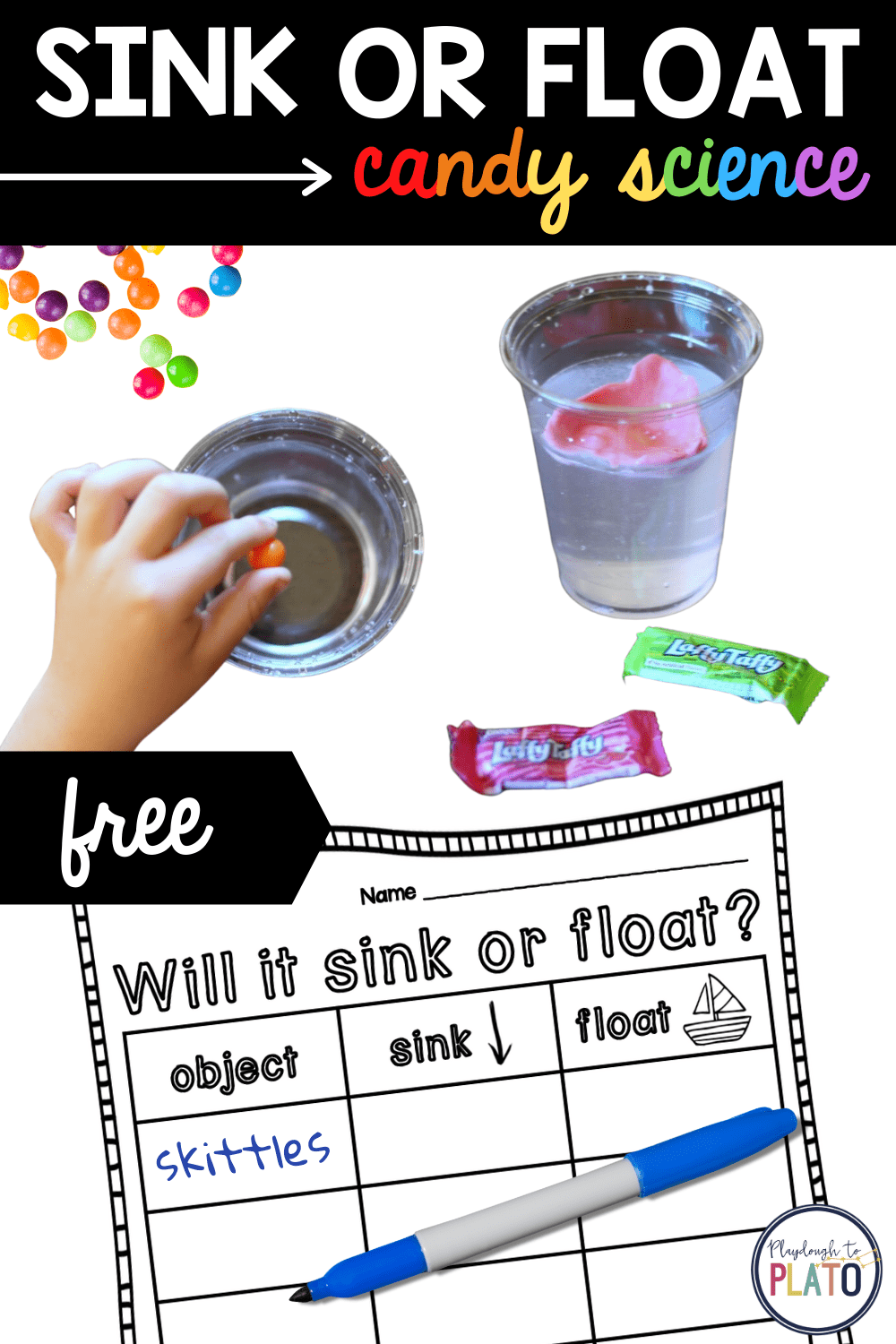 Sink or Float Candy Science