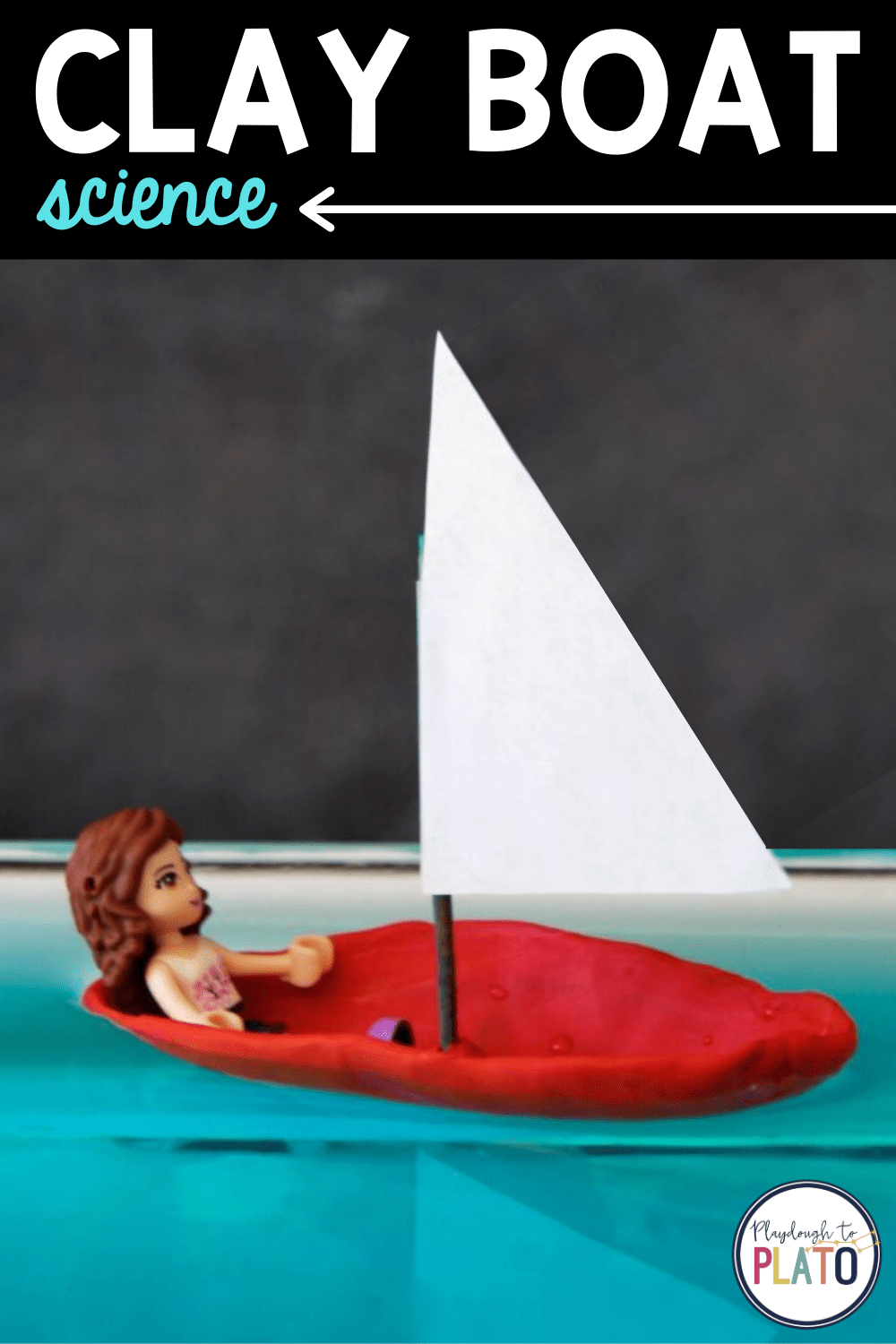 Clay Boat Kids' Science Experiment