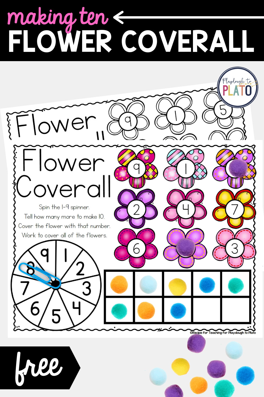 Making Ten Flower Coverall