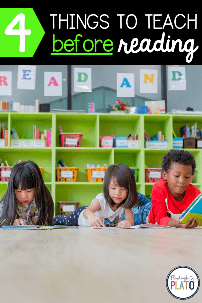 4 Things to Teach BEFORE Reading