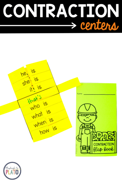 Contraction Centers - Flap Book