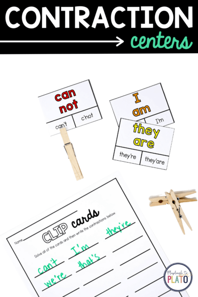 Contraction Centers - Clip Cards