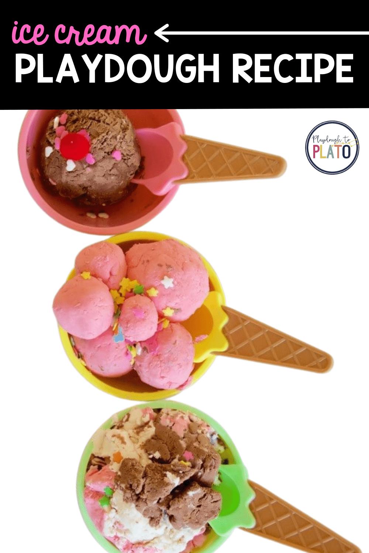 Ice Cream Playdough Recipe