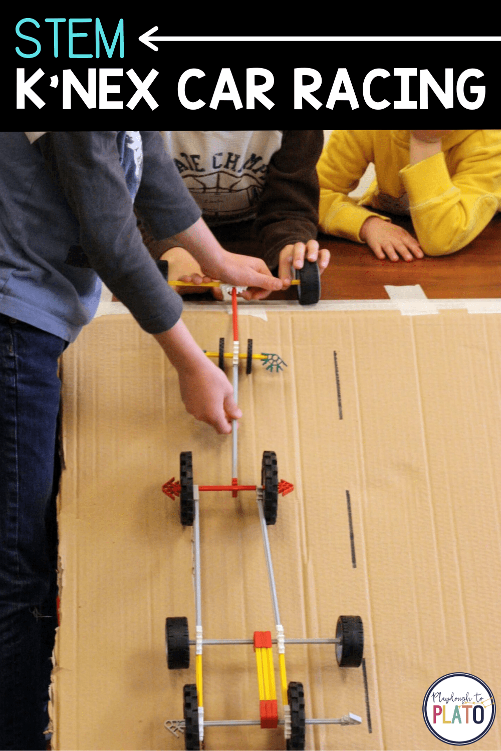 STEM K'nex Car Racing