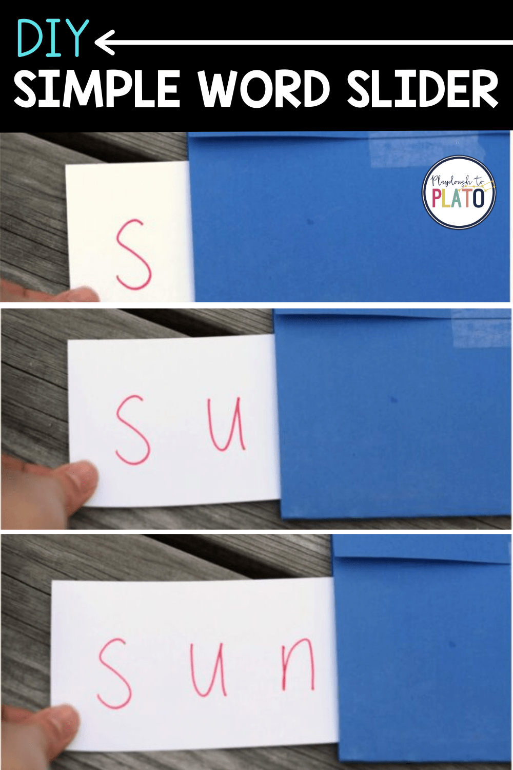 The Super Simple Word Slider