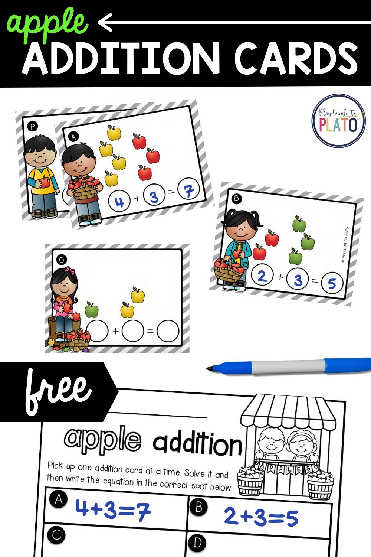 Apple Addition Cards