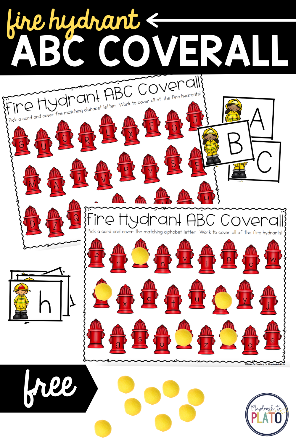 Fire Hydrant ABC Coverall Game