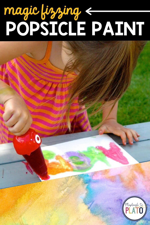 Magic Fizzing Popsicle Paint