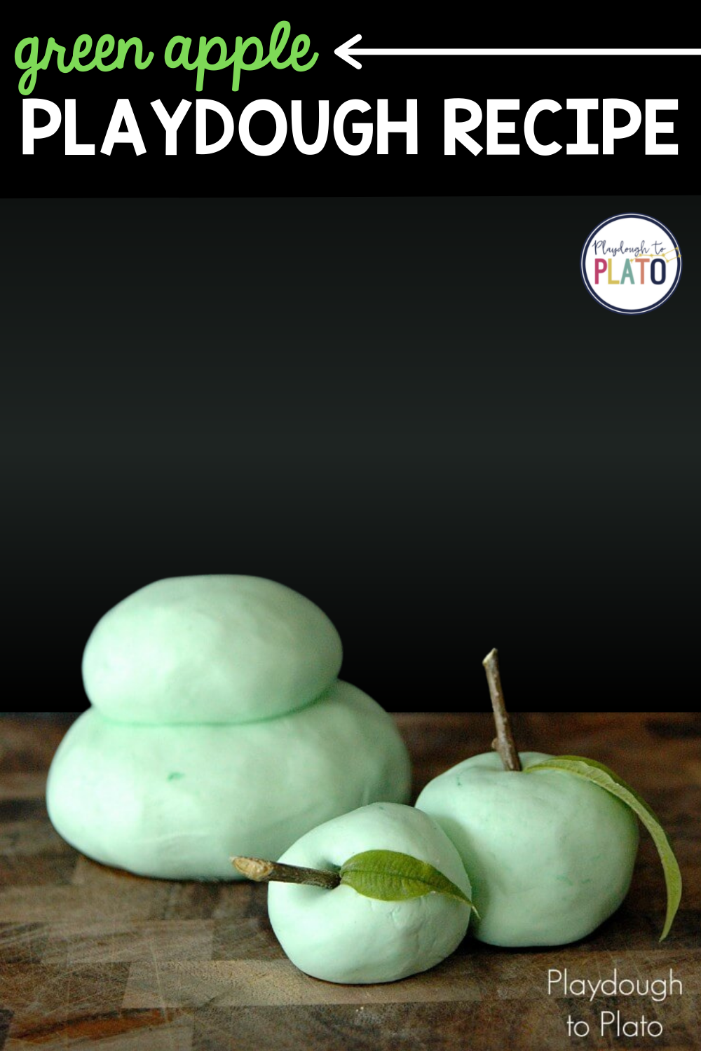Green Apple Playdough Recipe