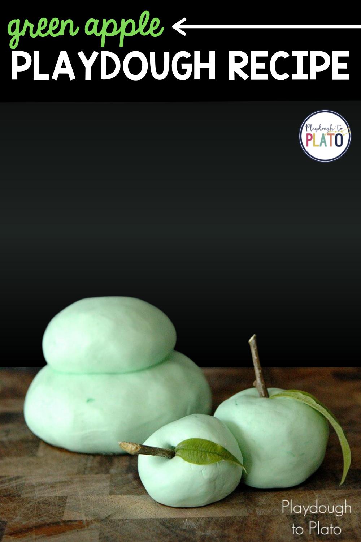 Green Apple Playdough Recipe