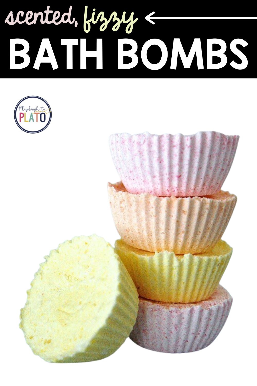 Scented, Fizzy Homemade Bath Bombs