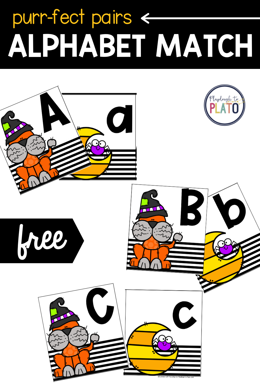 Purr-fect Pairs Alphabet Games